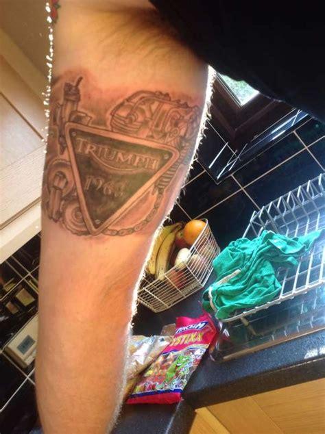 triumph tattoo triumph