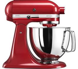 Buy KITCHENAID Artisan 5KSM125BER Stand Mixer   Empire Red   Free Delivery   Currys