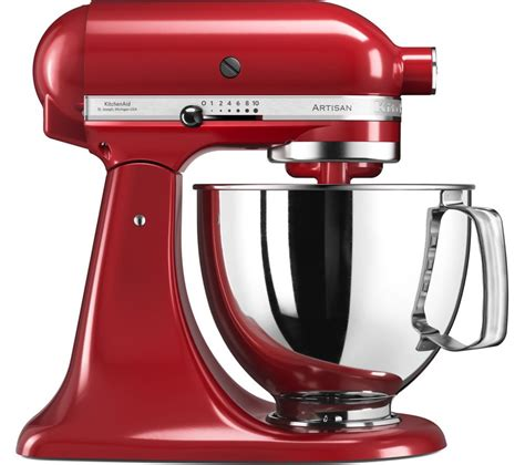 buy kitchenaid artisan 5ksm125ber stand mixer empire free delivery currys