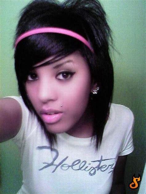cute hairstylesondoesross for black people cute emo girls 62 pics