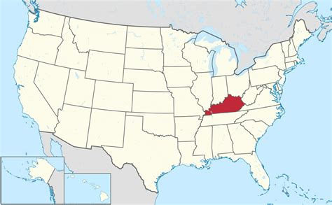 kentucky map america map usa kentucky