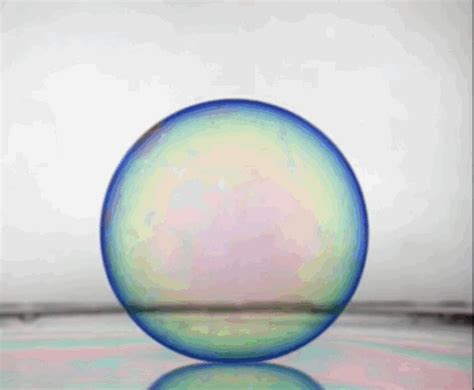 Bouncing Bubbles these gifs of bouncing bubbles and water droplets are