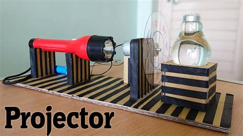 make a home how to make a projector using bulb at home
