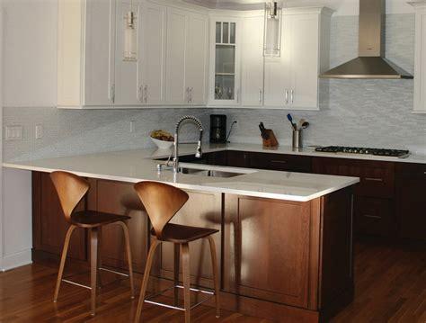 Peninsula Commercial Kitchen kitchen peninsula better than an island cliqstudios ideas