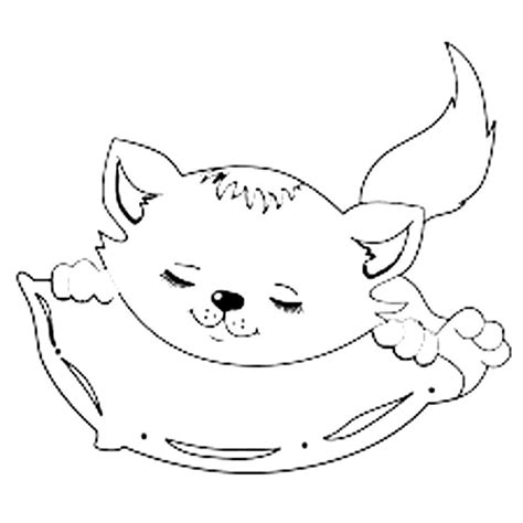 pillow coloring pages    print