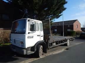 Renault 7 5 Tonne Lorry Renault Midliner 7 5 Ton Beaver Recovery Truck Ebay