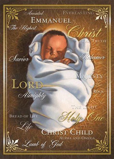 names  christ african american christmas card box set    black art depot
