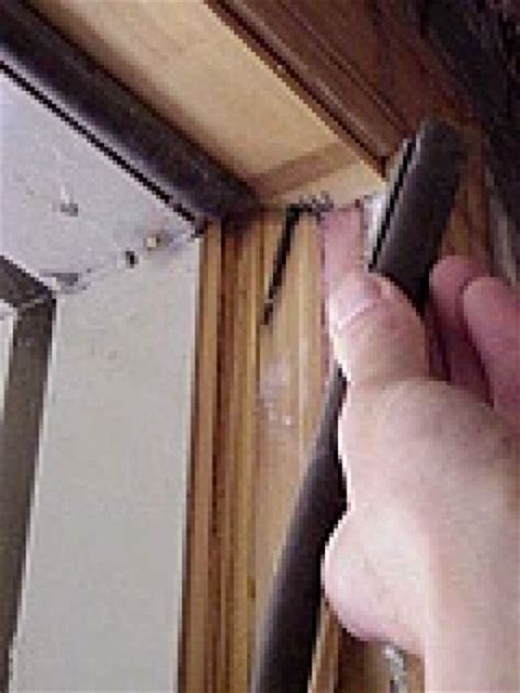 Exterior Door Weatherstripping Types How To Repair A Broken Door Jamb