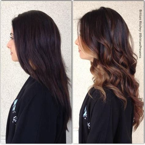 hair highlights for the spring with dark hair 17 best images about my new hair on pinterest brunette
