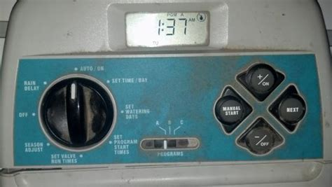 Toro Irrigation Timer Not Working Doityourself Com