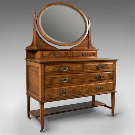 Antique Vanity Table Antique Dressing Table Edwardian Vanity Chest Of Drawers Antiques Atlas