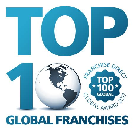 top 100 franchises top global businesses