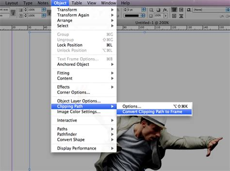 layout zones indesign quick tip using a photoshop clipping path within indesign