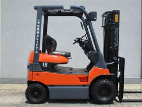 Toyota Electric Forklift Used Toyota 7fb15 Electric Forklift 2521 Exapro