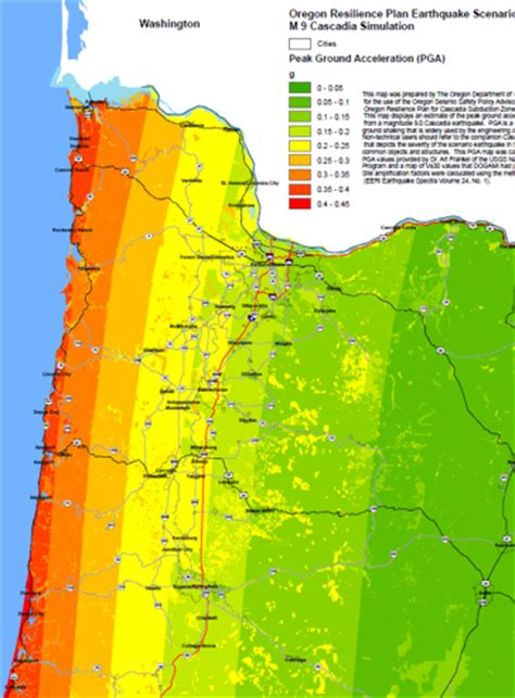 map of oregon earthquake zones 2012 minutes pacific northwest seismic network