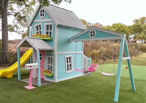outdoor doll house best 25 kid playhouse ideas on pinterest childrens