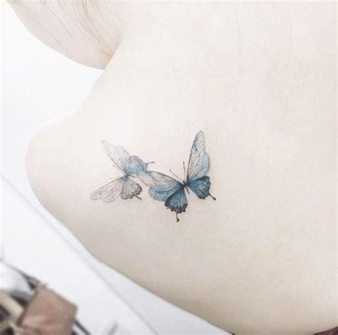 imagenes de dos mariposas juntas 10 hermosos tatuajes de mariposas y su significado dise 241 o