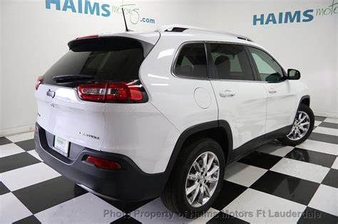 Used Jeep Suv 2016 Used Jeep 4wd 4dr Limited At Haims Motors