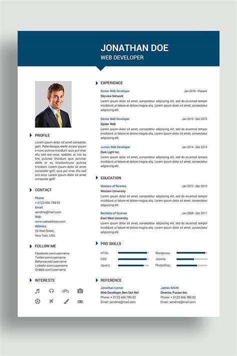 jonathan resume template
