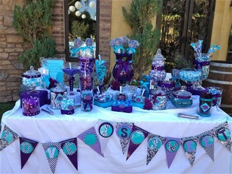 oak meadows temecula ca purple teal peacock theme candy