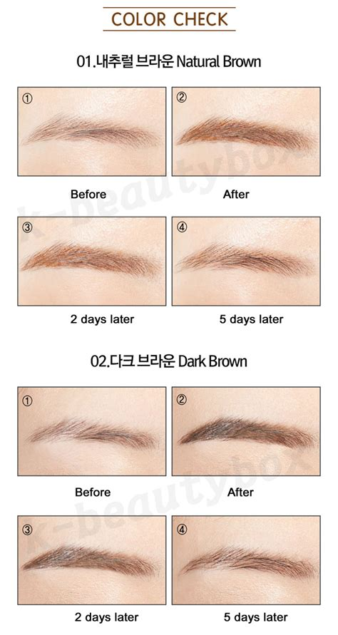 how long do eyebrow tattoos last luxe eyebrow lasts up to 7 days lasting