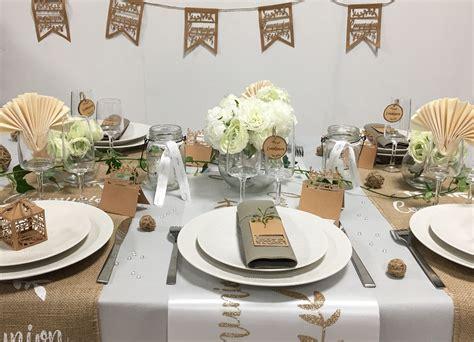 Decoration De Table Pour Communion by D 233 Co De Table Pour Communion Bapteme Communion