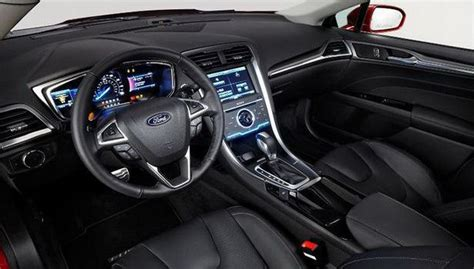 Ford Fusion 2016 Interior by 2016 Ford Fusion Price Release Date