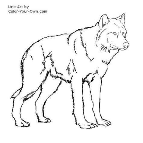 wolf coloring pages games wolf coloring pages for kids wolf standing coloring page