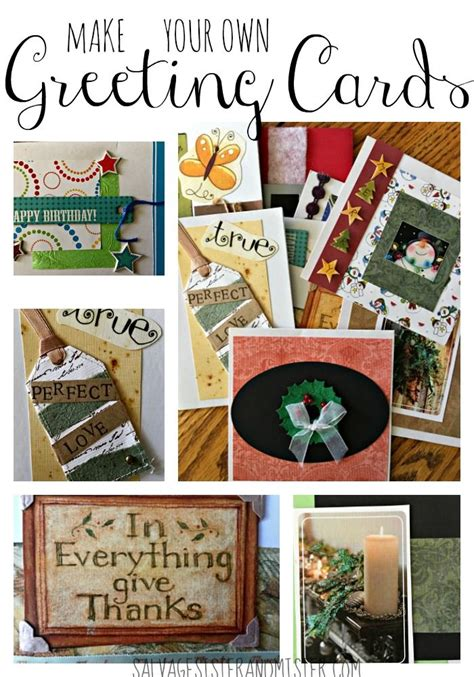 how to make your own calendar handmade best 25 greeting cards ideas on