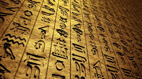 wallpaper for walls with writing cg footage that presents ancient writings hieroglyphs on