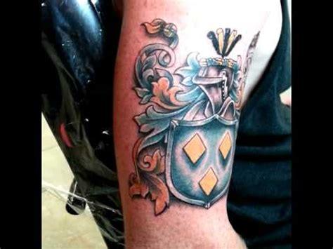 family tattoo youtube tattoo family crest youtube