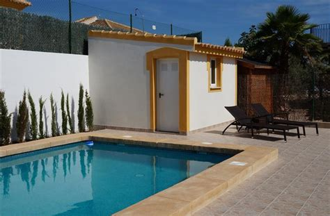 Swimming Pool Shed by Villa For Rent In Mazarr 243 N Mazarron Country Club