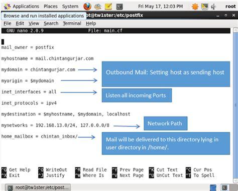 Configure Xp Centos   post fix configuration centos xp with outlook hack
