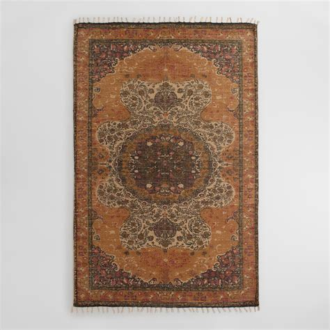 5x8 yellow jute soha area rug world market