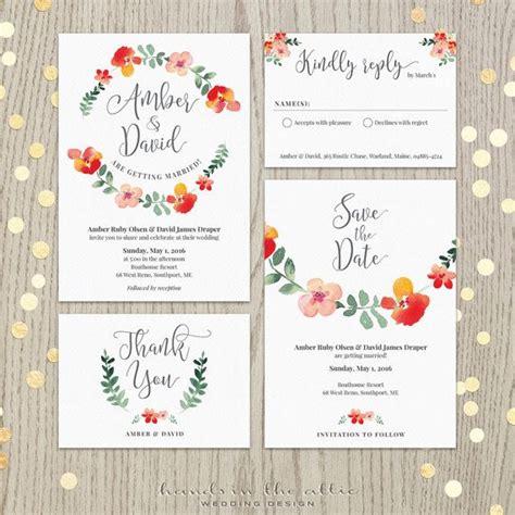 Hochzeitseinladung Floral die besten 17 bilder zu hochzeit einladungen auf