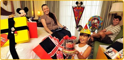 disney in room celebrations what are quot in room celebrations quot at the walt disney world resort