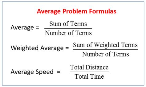 Average Credit Days Formula Algebra Average Word Problems Solutions Exles