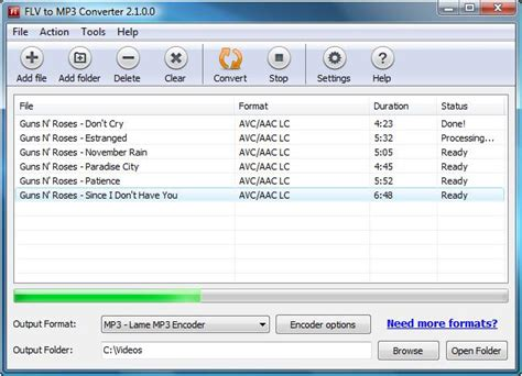 flv mp3 downloader flv to mp3 converter 2 2 1 0 download freewarelinker com