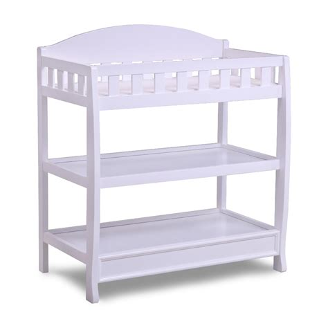 delta children changing table delta children white changing table with pad baby baby