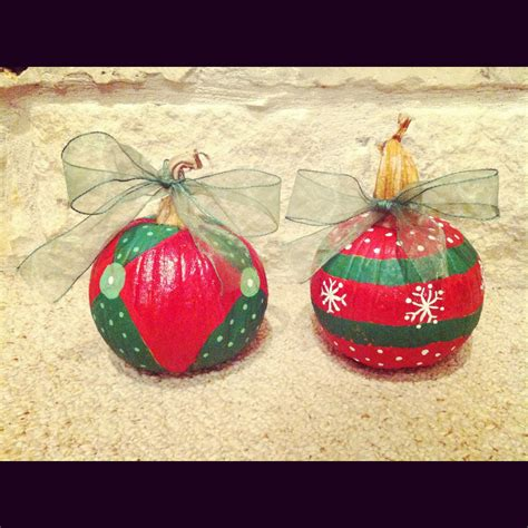 repurposed pumpkins for christmas tis the season pinterest repurposed holidays and craft