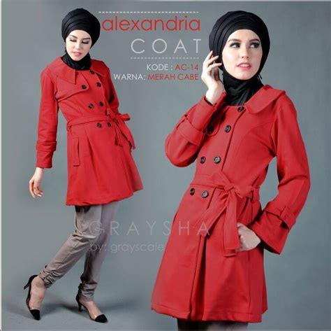 Jaket Hoodie Muslimah By Grayscale butik jaket muslimah jual jaket grayscale jaket wanita