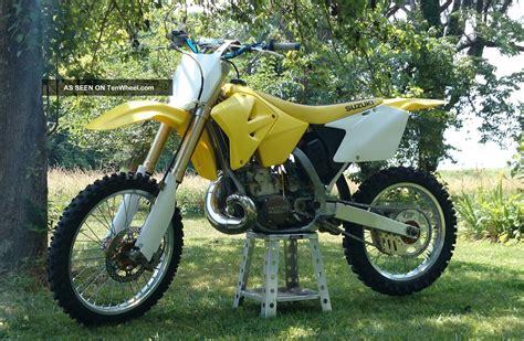 2005 Suzuki 250 Dirt Bike 2005 Suzuki Rm 250 Dirt Bike All Rebuilt