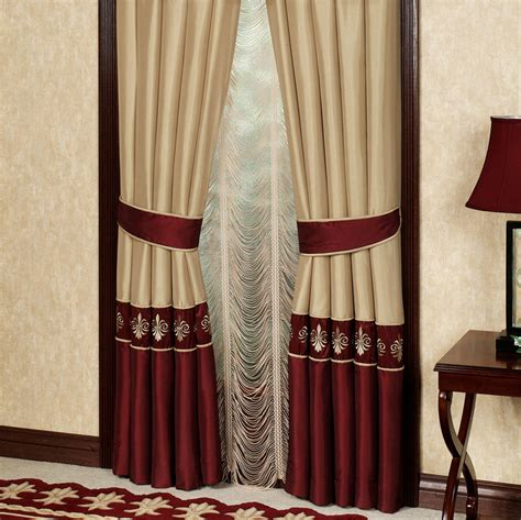 Maroon Curtains For Living Room Ideas Burgundy And Gold Curtains Best Curtains Design 2016