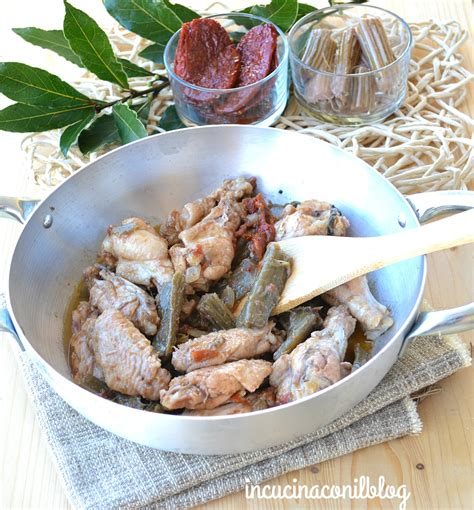 cardi in cucina pollo in umido con i cardi in cucina con il