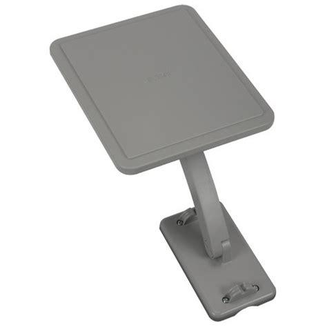 rca ant800z outdoor omni directional flat digital tv antenna gray ebay