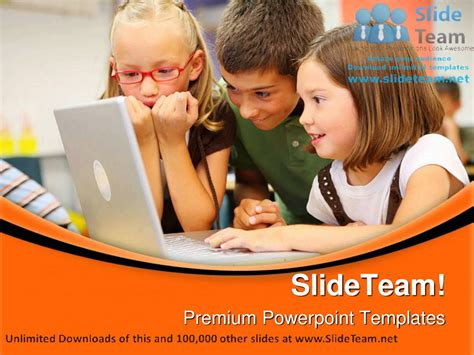 Elementary School Students Education Powerpoint Templates Themes And Backgrounds Ppt Designs Powerpoint Templates For Students