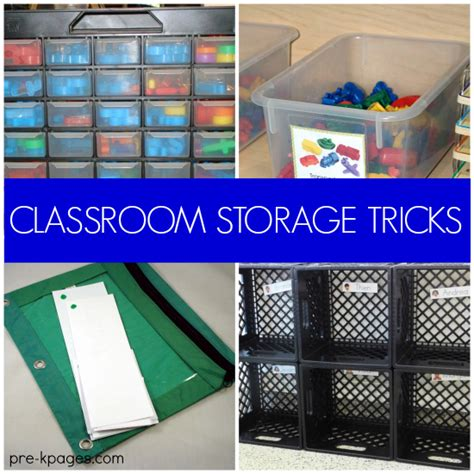 Office Desk Organization Ideas 20 Classroom Storage Ideas