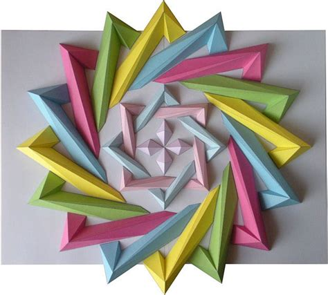 How To Make Geometric Origami - 46 best images about paper incredibile on