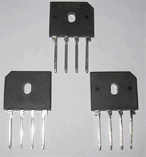 ultrafast diode bridge single phase bridge rectifier gbu1510 810 610 410 1010 diode rectifier from leshan