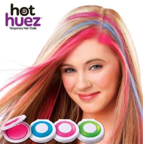 Monggo Huez Pewarna Rambut Sementara Temporary harga spesifikasi as seen on tv huez temporary hair chalk pewarna rambut sementara terbaru
